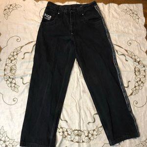 Vintage black paco jeans